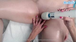 Camsoda – Big Tits Redhead Teen has orgasm at massage parlor